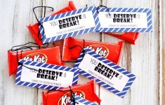 Lds Primary 'kit Kat' Thank You Gift Idea Free Printable | Lds – Printable Thangles Free