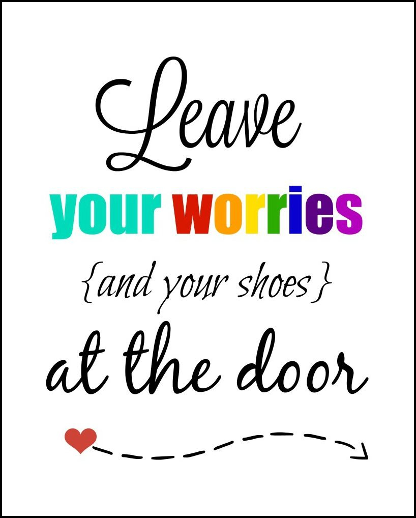 Leave Your Shoes At The Door Printable - Free Printable Remove Your Shoes Sign