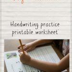 Left Handed Learning: Letter Practice Worksheet Z   Gym Craft Laundry   Free Printable Left Handed Worksheets