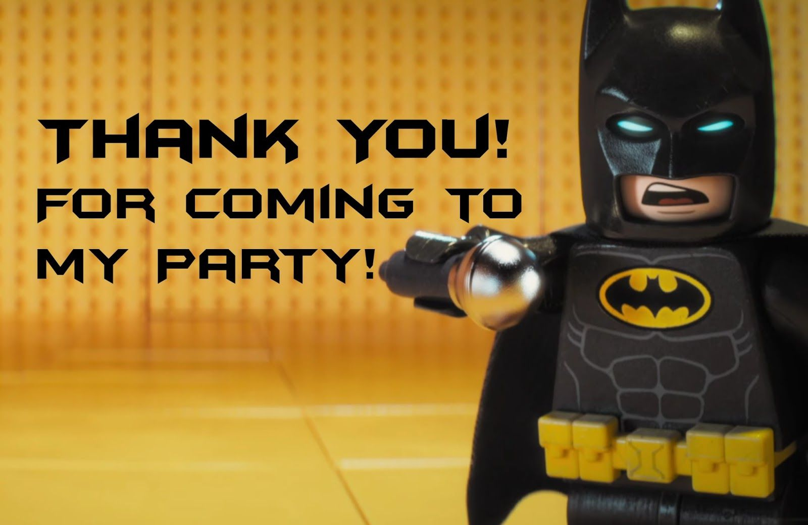 Lego Batman Thank You Cards   Lego Batman-Super Heros Printables - Lego Batman Invitations Free Printable