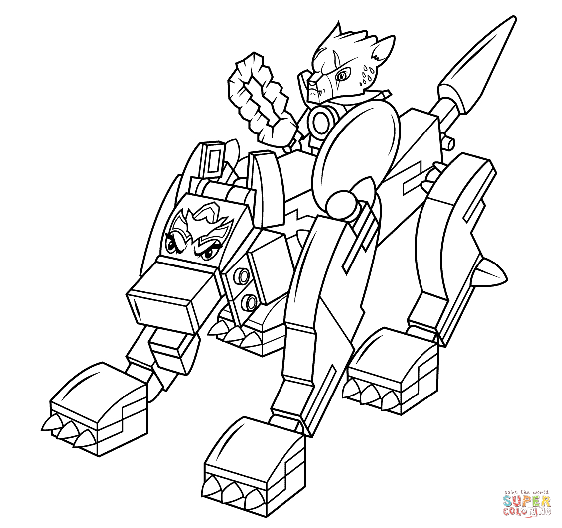 Lego Chima Coloring Pages - Gamz Dedans Dessin Lego Chima - Dessin.site - Free Printable Lego Chima Coloring Pages