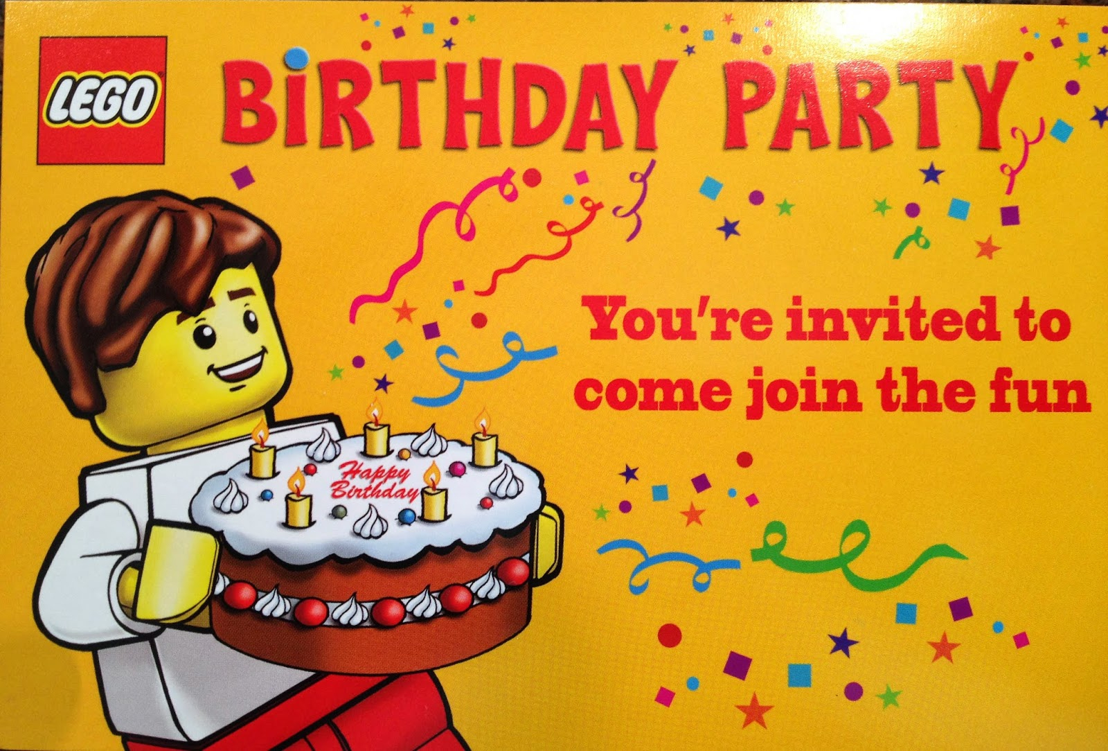 Lego Party Invitations Lego Party Invitations A Beauty Party - Lego Party Invitations Printable Free