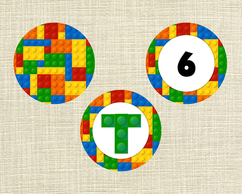 Lego+Cupcake+Topper+Printables | Kid Stuff | Pinterest | Lego - Free Printable Lego Cupcake Toppers
