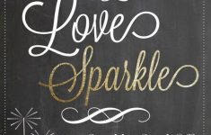 Free Printable Wedding Sparkler Sign