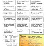 Let's Talk About Family Worksheet   Free Esl Printable Worksheets   Free Printable English Conversation Worksheets