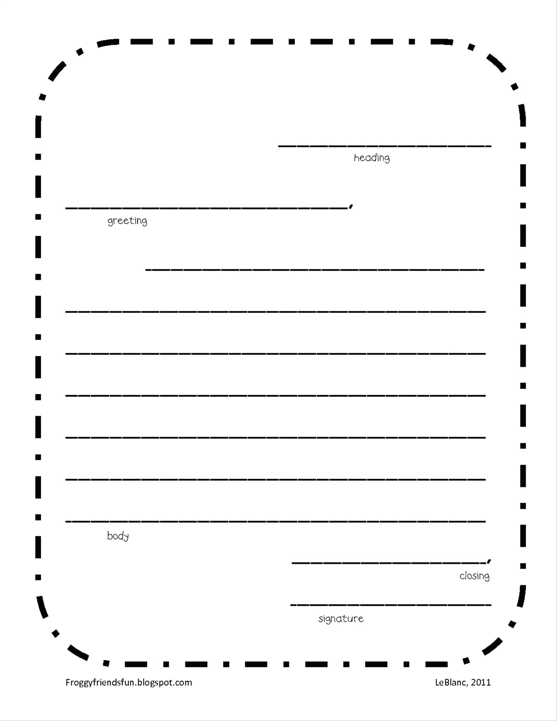 Letter Writing Template Printable | Free Letter Templates For Word - Free Printable Letter Writing Templates