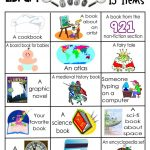 Library Activities | Reading | Library Scavenger Hunts, Library   Free Printable Pre K Reading Books