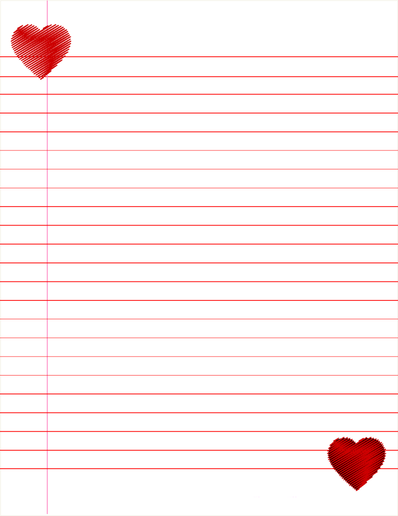 Lined Paper For Kids Cute | Paper | Lined Paper For Kids, Lined - Free Printable Binder Paper