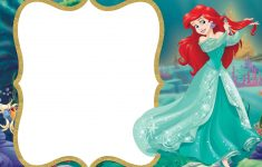 Little Mermaid Royal Invitation | Backgrounds | Little Mermaid – Free Little Mermaid Printable Invitations