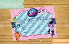 Littlest Pet Shop Birthday Invitations | Birthdaybuzz – Littlest Pet Shop Invitations Printable Free