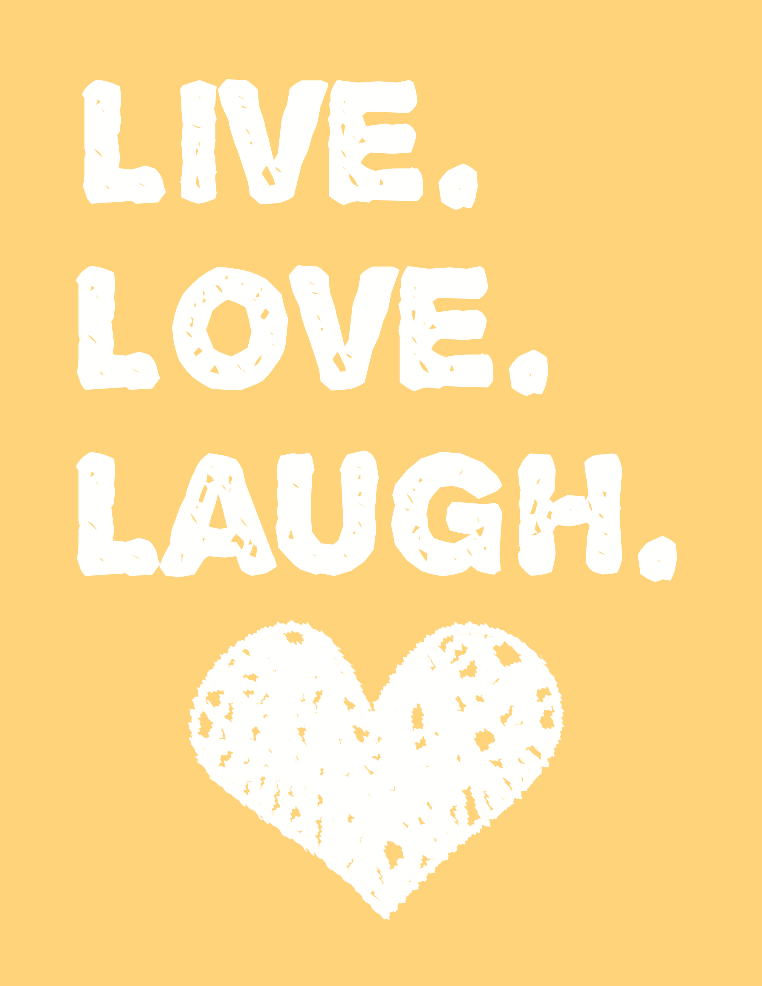 Live Love Laugh Wall Art - A Free Printable | Printables | Pinterest - Free Printable Wall Art Decor