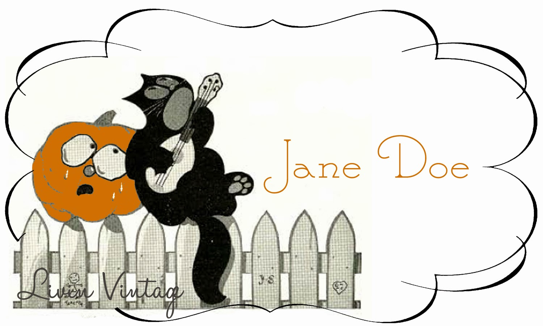 Livin Vintage: Free Vintage Halloween Place Card Printable - Free Printable Halloween Place Cards