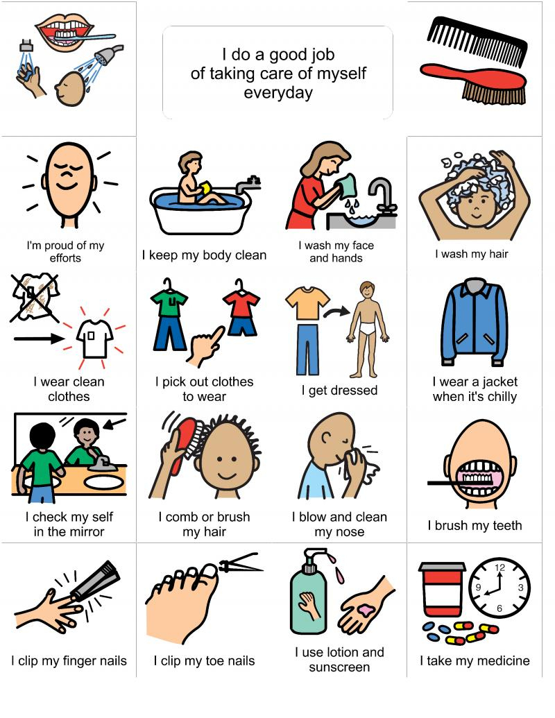 Living Well With Autism - Social Stories - Hygeine, Grooming, Puberty - Free Printable Social Stories