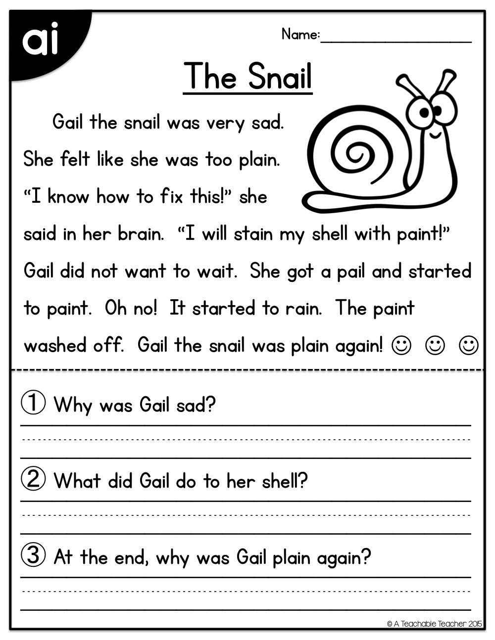 Long Vowels Reading Passages Freebie | Printable Activity Sheets - Free Phonics Readers Printable