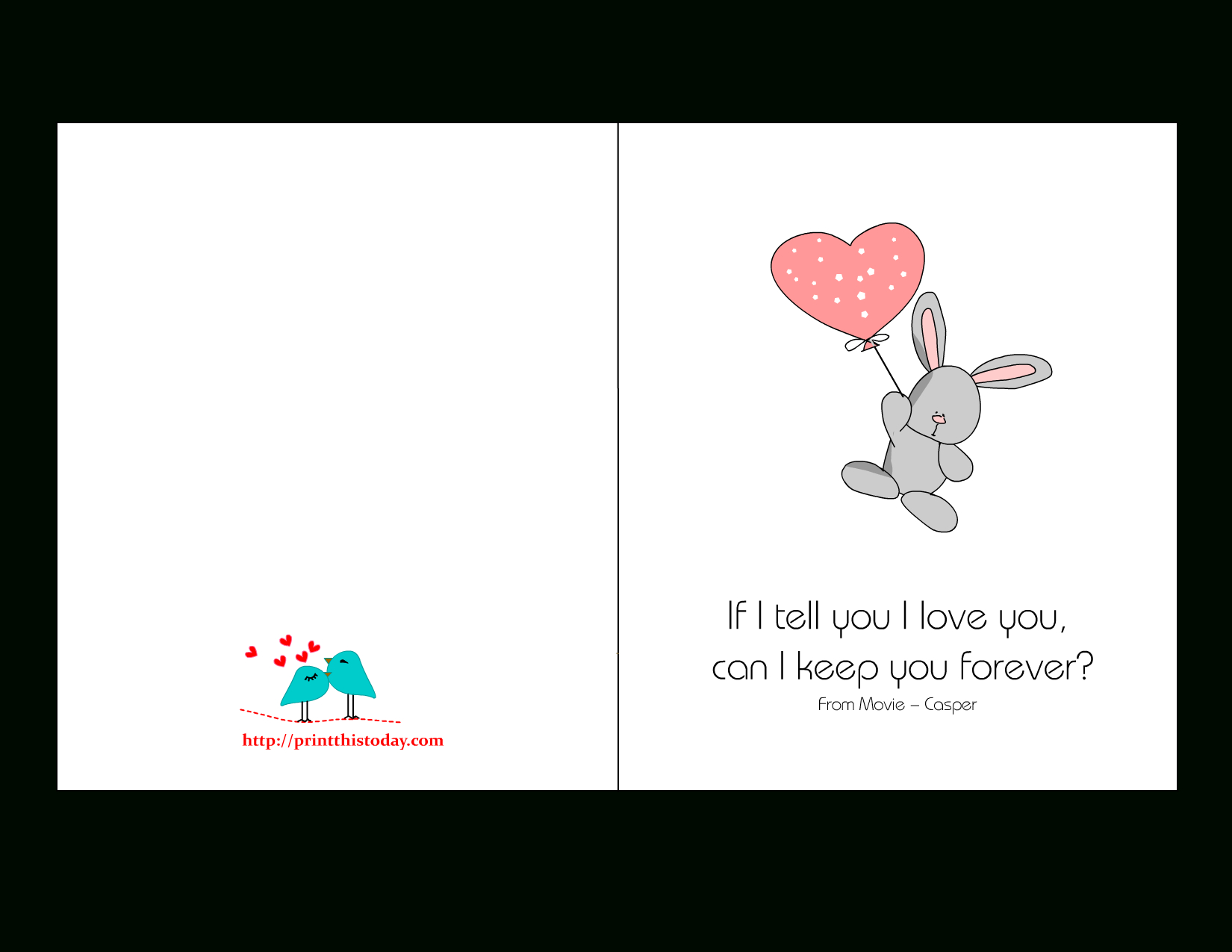 Love Quotes Cards - Free Printable Love Cards