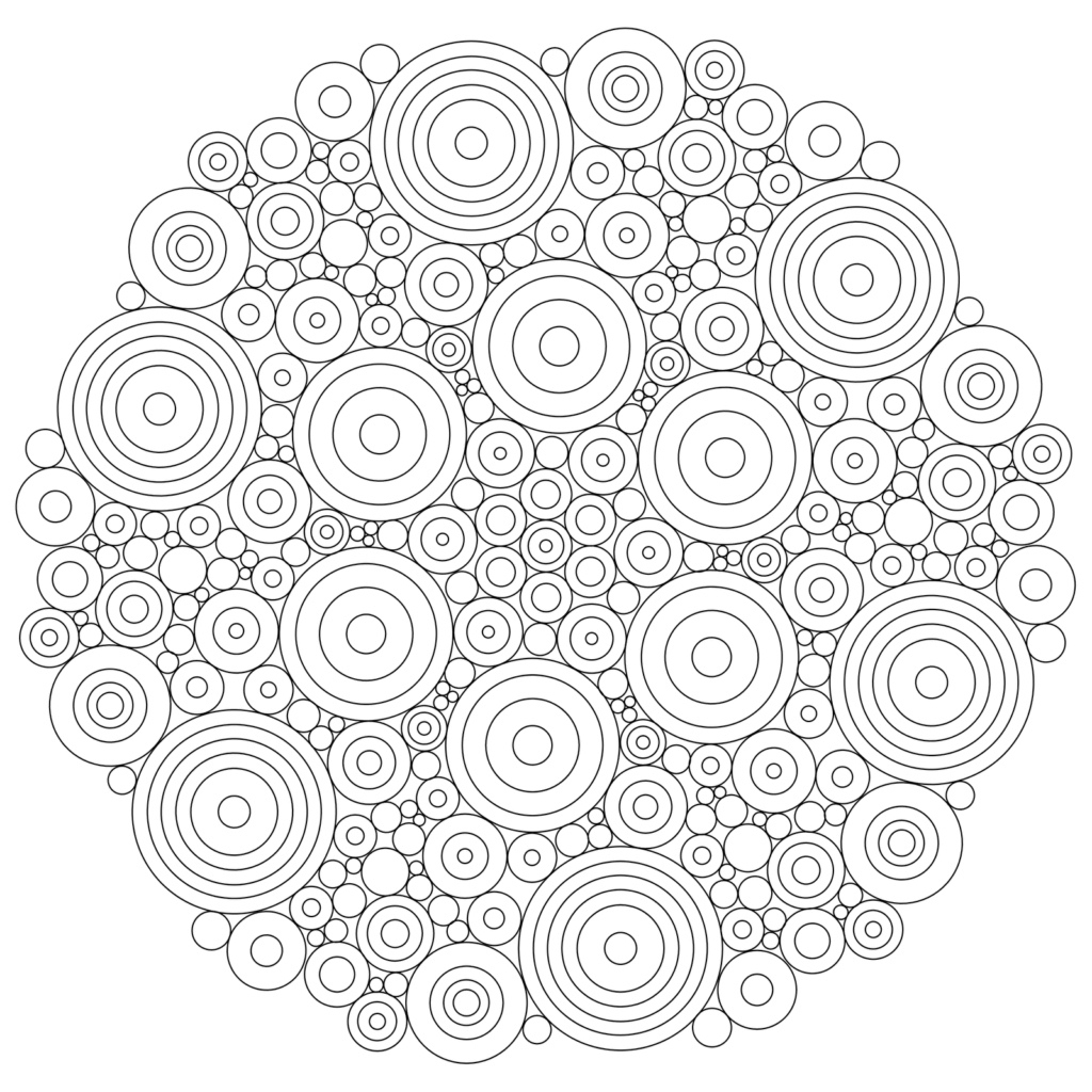Mandala Coloring For Kids - Opulent Design Free Printable Mandala - Free Printable Mandala Coloring Pages