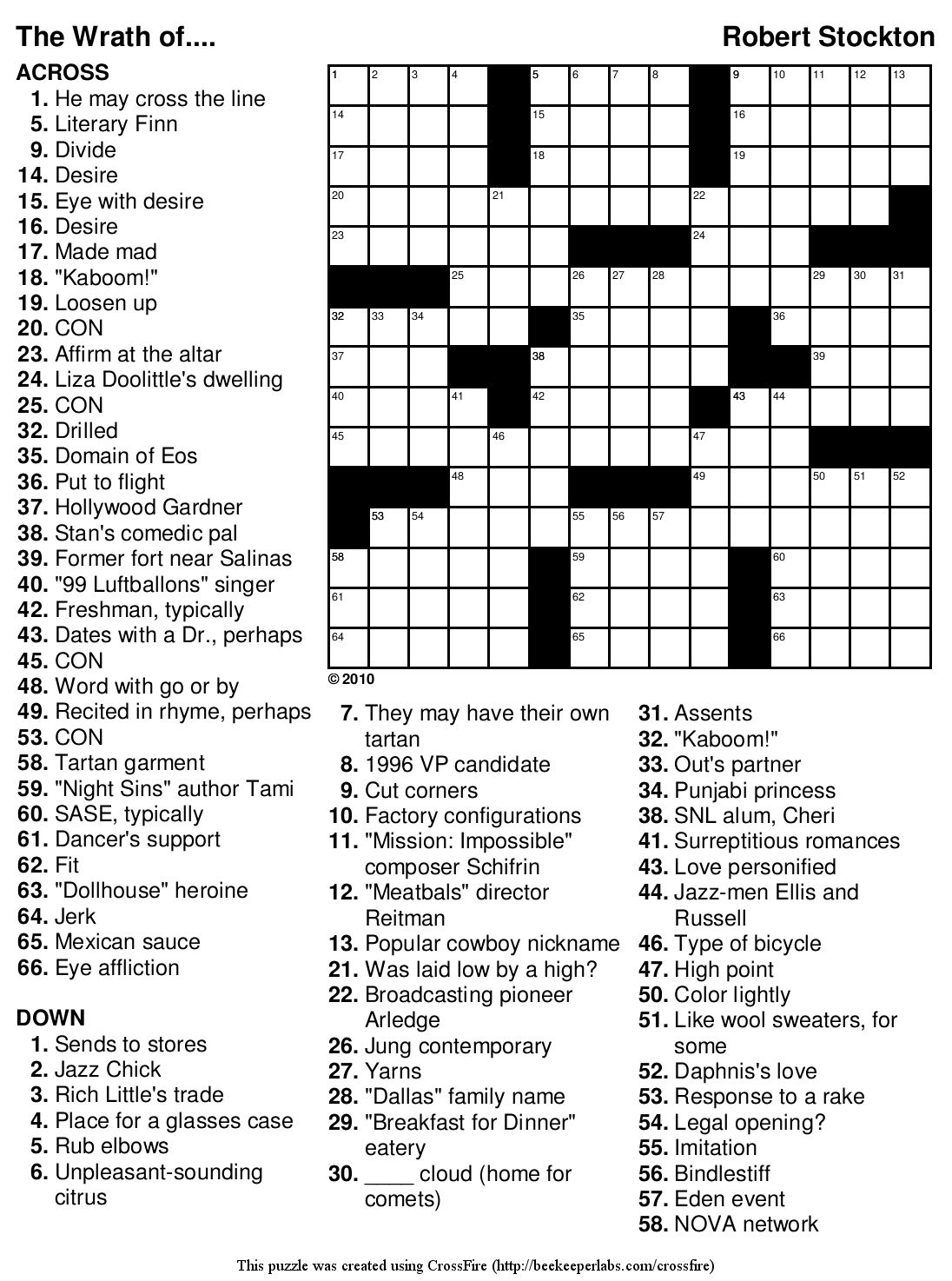 Marvelous Crossword Puzzles Easy Printable Free Org | Chas's Board - Free Printable Crossword Puzzles Medium Difficulty