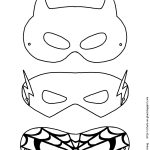 Mask Printable | Free Printable Superhero Mask Template | Masks   Free Printable Paper Masks