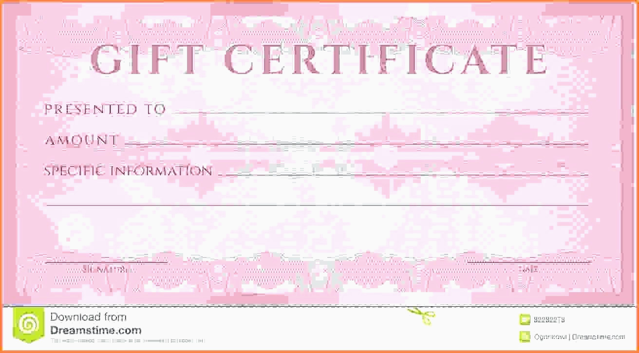 Massage Gift Certificate Template   Why Letter - Free Printable Massage Gift Certificate Templates