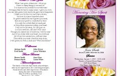 Memorial Service Programs Sample | Choose From A Variety Of Cover – Free Printable Memorial Card Template