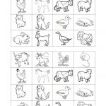 Memory Game On Farm Animals | Free Esl Printable Worksheets   Free Printable Memory Exercises