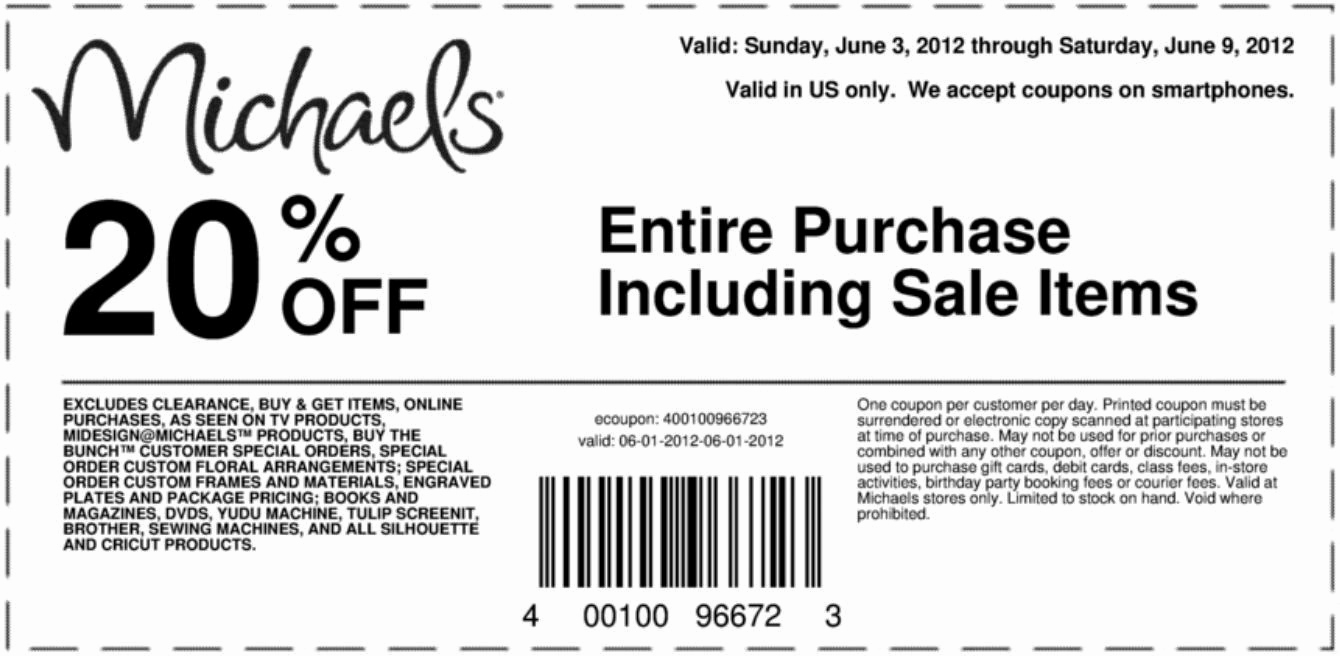 Michaels Online Gift Card - Siphosjamaica - Free Printable Michaels Coupons