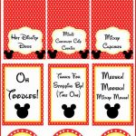Mickey Mouse Clubhouse Party Ideas And Free Party Printables | Party   Free Printable Mickey Mouse Decorations
