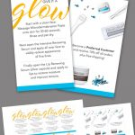 Mini Facial Card   Glow / Product   Instant Download | Rodan And   Rodan And Fields Mini Facial Instructions Printable Free