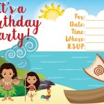 Moana Invitations Fresh Free Printable Moana Birthday Invitations   Free Printable Moana Birthday Invitations