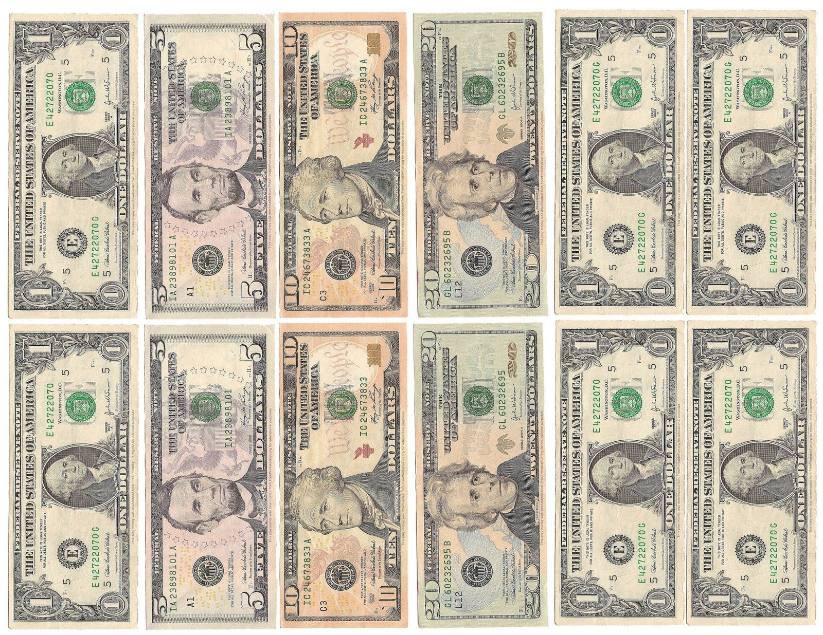Money Money Money! | Kid's Room | Pinterest | Printable Play Money - Free Printable Fake Money That Looks Real