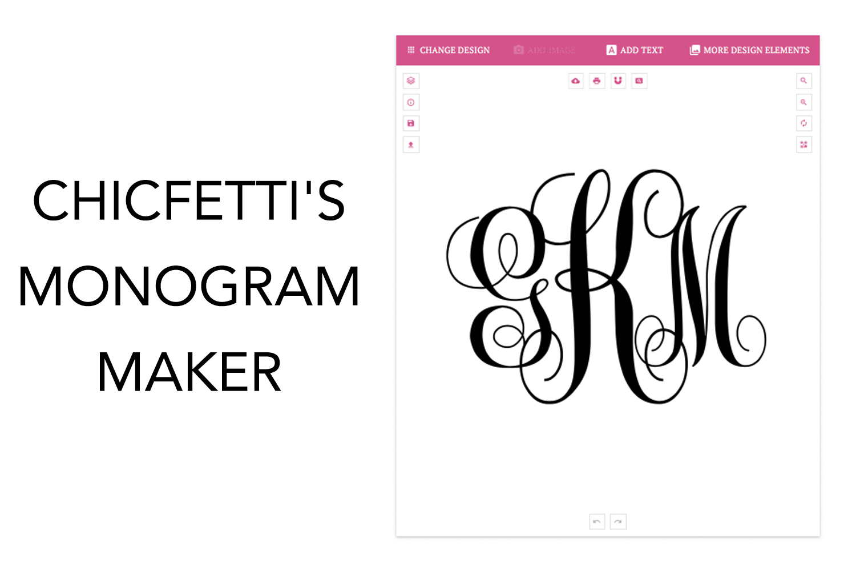 Monogram Maker - Make Your Own Monograms Using Our Free Online Maker - Free Printable Monogram