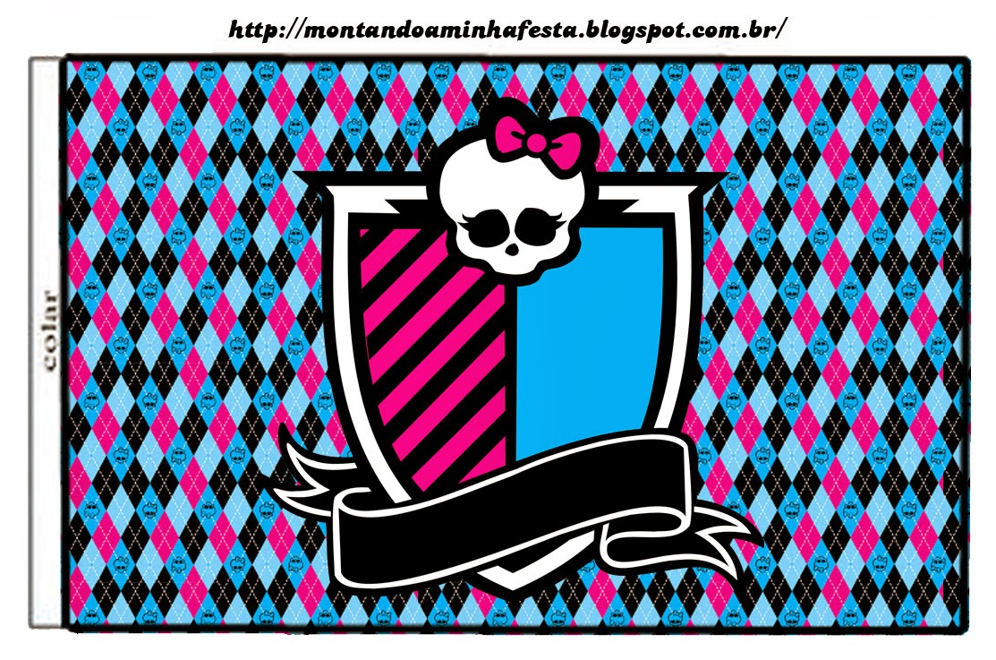 Monster High: Free Printable Labels And Toppers. | Oh My Fiesta! In - Free Printable Monster High Stickers