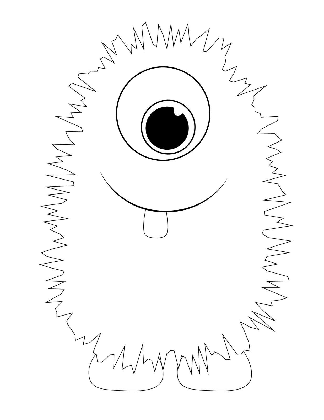 Monster Printable Templates   Kids Crafts   Pinterest   Monster - Free Printable Monster Templates