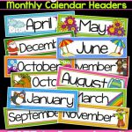 Months Of The Year Calendar Printables Printable Months The Year   Free Printable Months Of The Year Labels