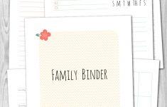 Free Printable Household Binder