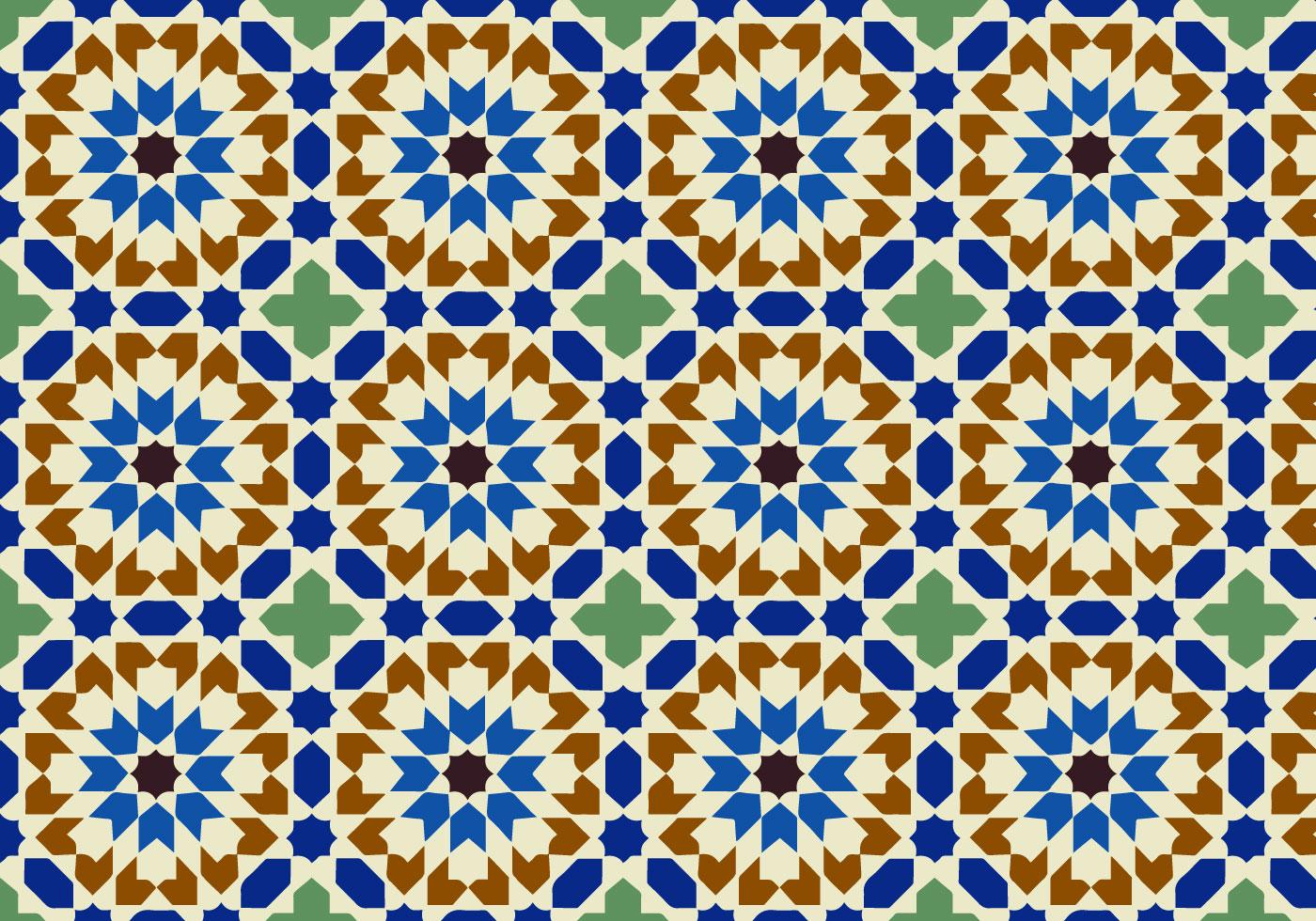 Moroccan Pattern Free Vector Art - (17207 Free Downloads) - Free Printable Moroccan Pattern