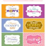 Mother's Day Free Printable Tags | Mother's Day And Grandmother – Free Printable Mothers Day Cards No Download