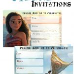 Musings Of An Average Mom: Free Printable Moana Invitations 2   Free Printable Moana Birthday Invitations