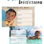 Musings Of An Average Mom: Free Printable Moana Invitations   Free Printable Moana Birthday Invitations