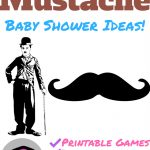 Mustache Themed Baby Shower! – Name That Mustache Game Printable Free
