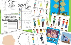 My Family Free Printable Preschool Activity Pack | All About Me – Free Printable Preschool Teacher Resources