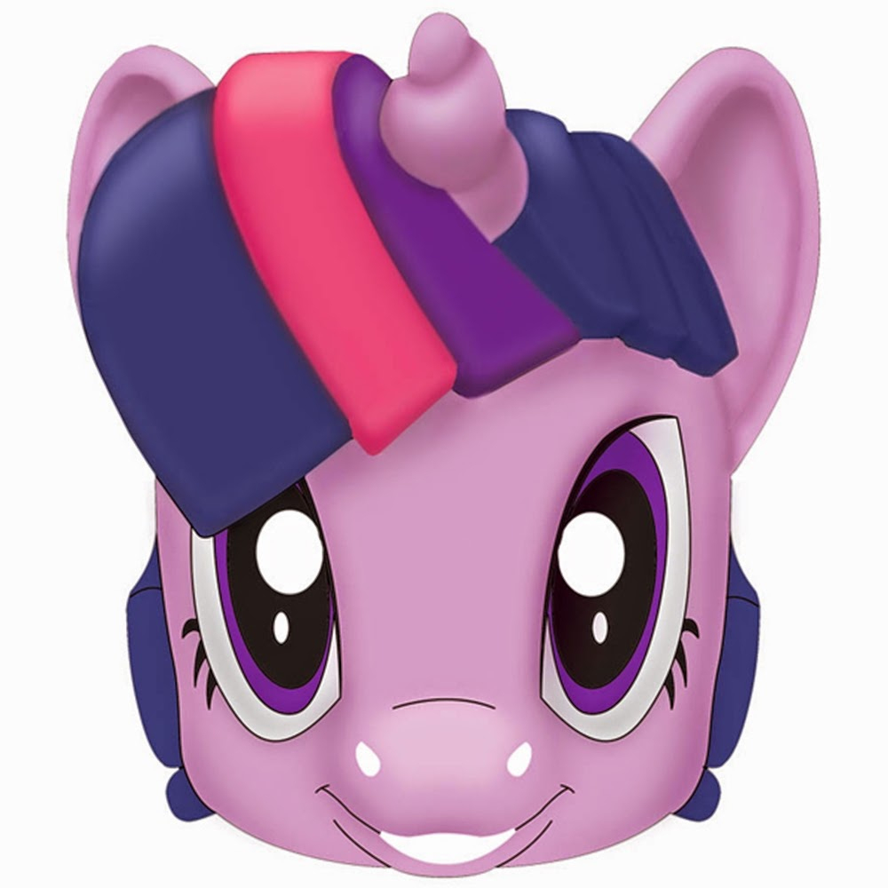 My Little Pony Free Printable Masks. | Oh My Fiesta! In English - Free My Little Pony Printable Masks