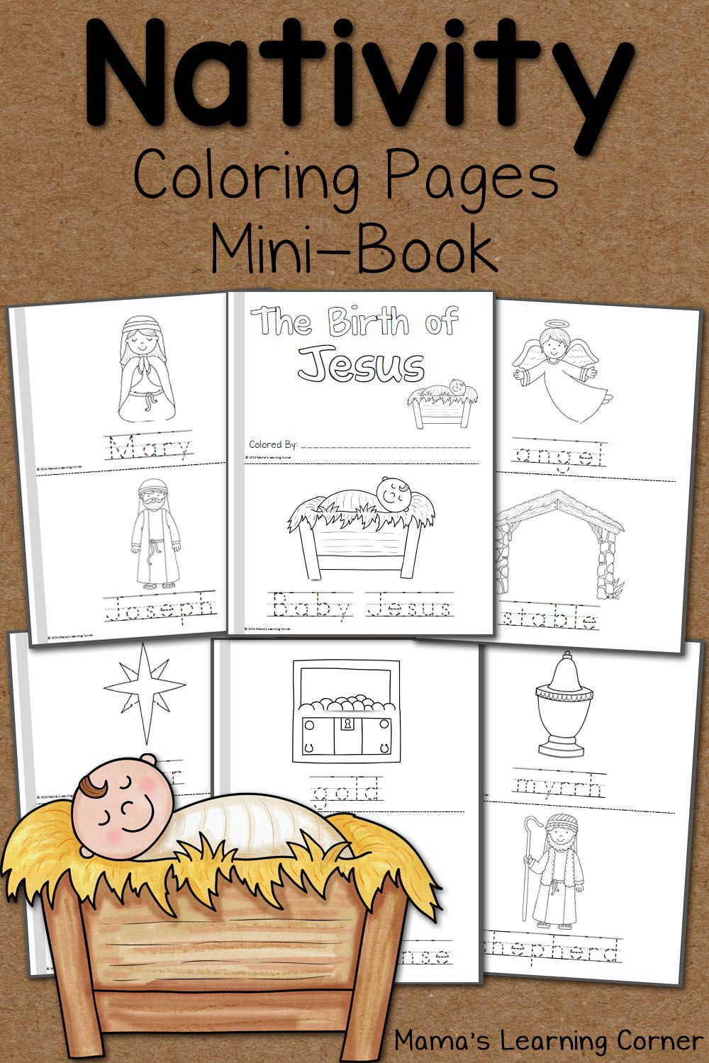 Nativity Coloring Pages | Ultimate Homeschool Board | Nativity - Free Printable Christmas Story Coloring Pages