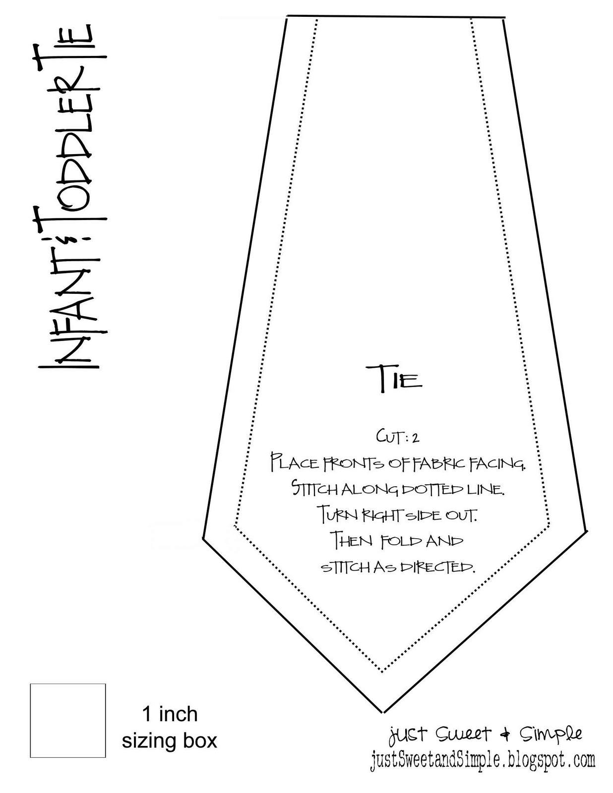 Necktie Template. Here S A To Use In Your Crafty Kids Projects. Tie - Free Printable Tie Template