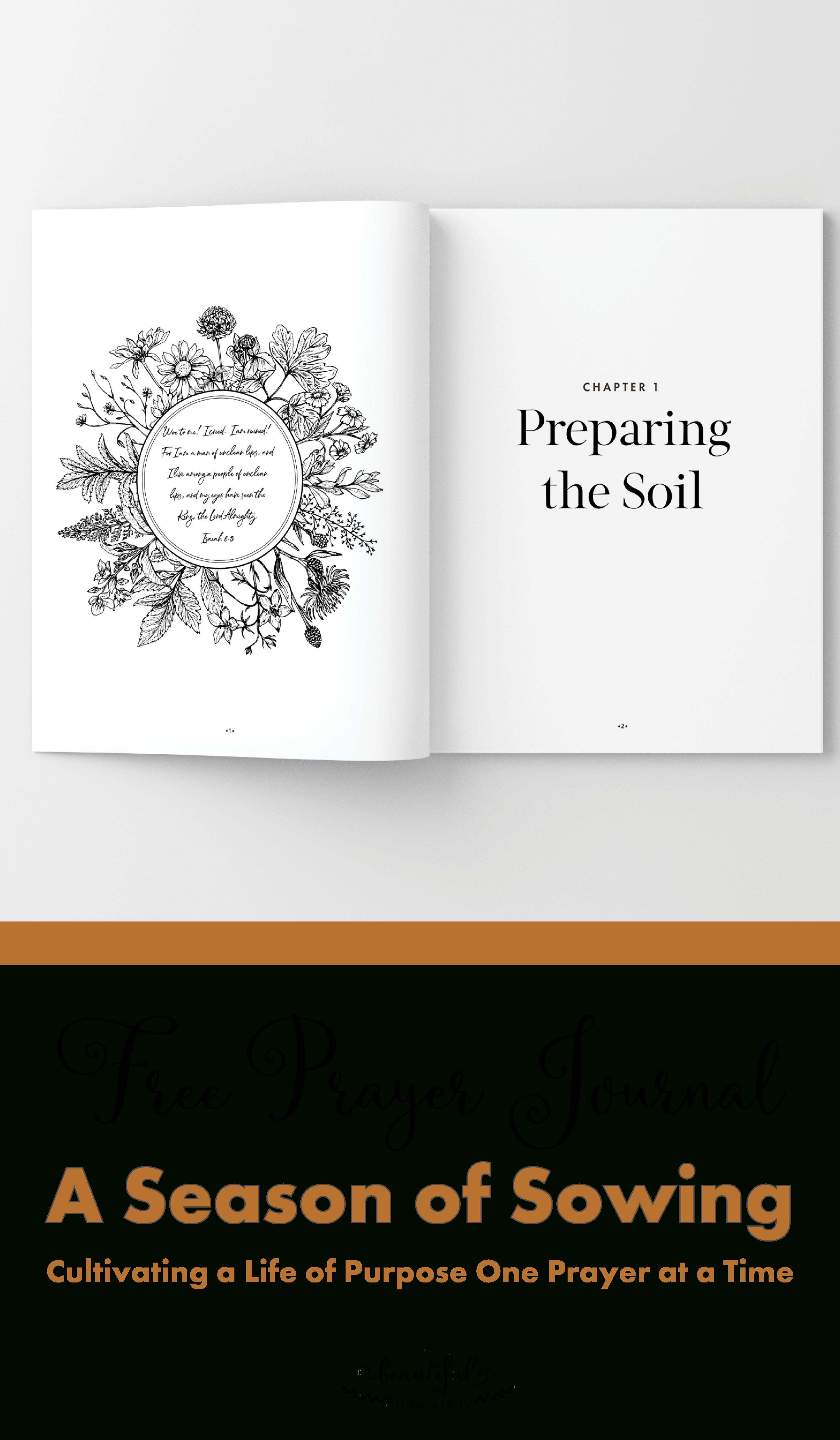 New *free* Printable Prayer Journal And Online Bible Study For Women - Free Printable Bible Studies For Men