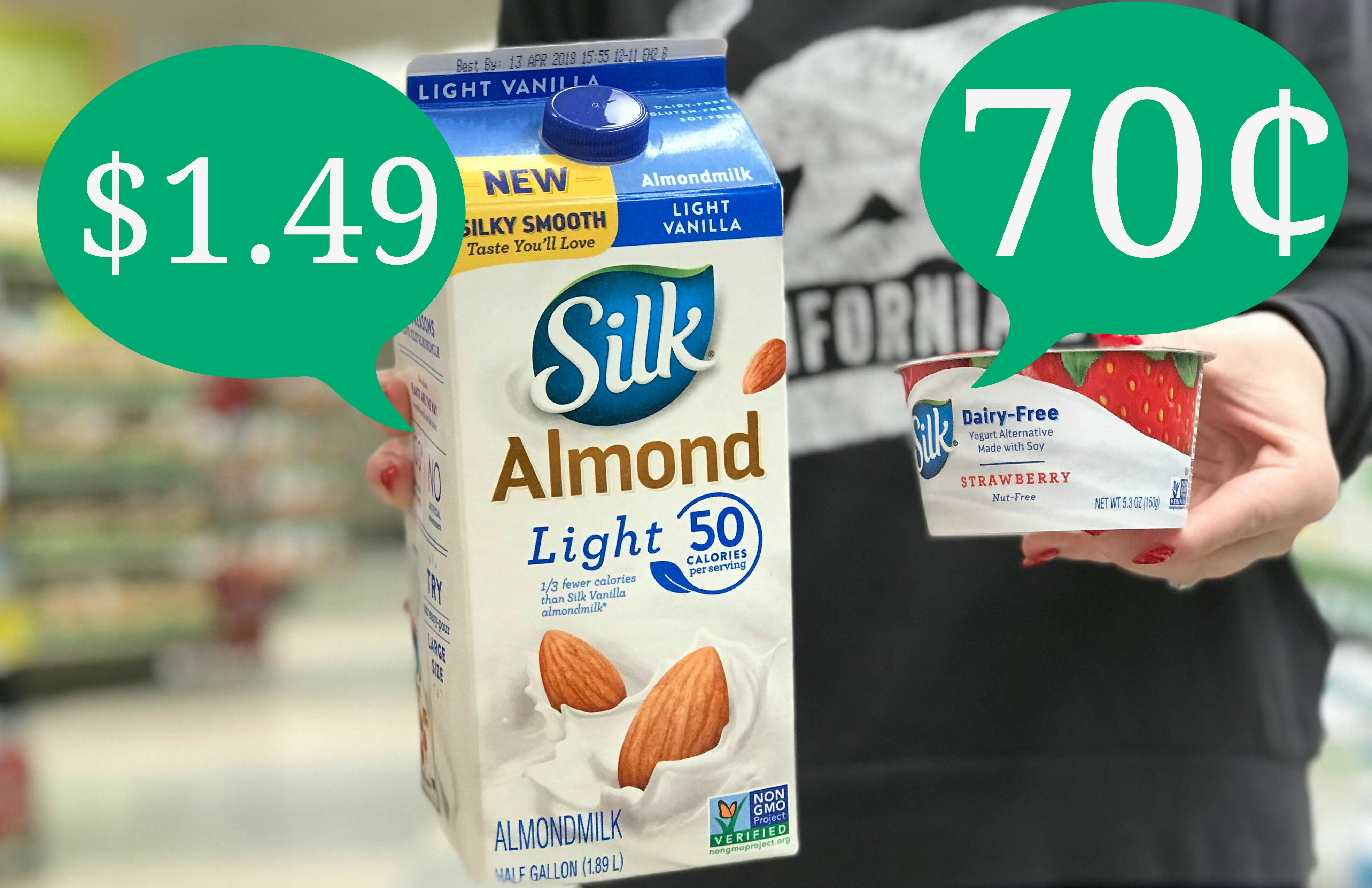 New Silk Coupons | Almondmilk As Low As $1.49 And Dairy-Free Yogurt - Free Printable Silk Soy Milk Coupons