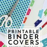 New To The Organization Toolbox: Printable Binder Covers And Tabs   Free Printable Customizable Binder Covers