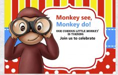 Free Printable Curious George Invitations