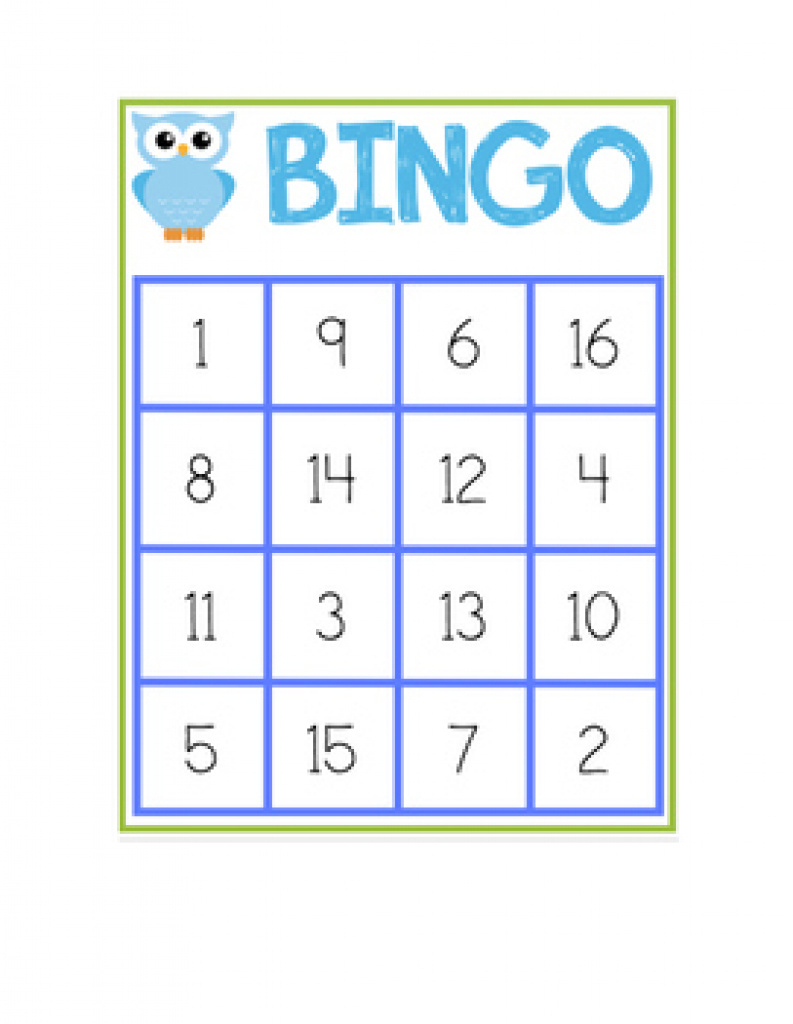 Number Bingo 1-20 Teaching Resources | Teachers Pay Teachers With - Free Printable Bingo Cards For Teachers