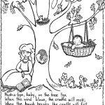 Nursery Rhyme Coloring Page | Teaching   Nursery Rhymes/mother Goose   Mother Goose Coloring Pages Free Printable